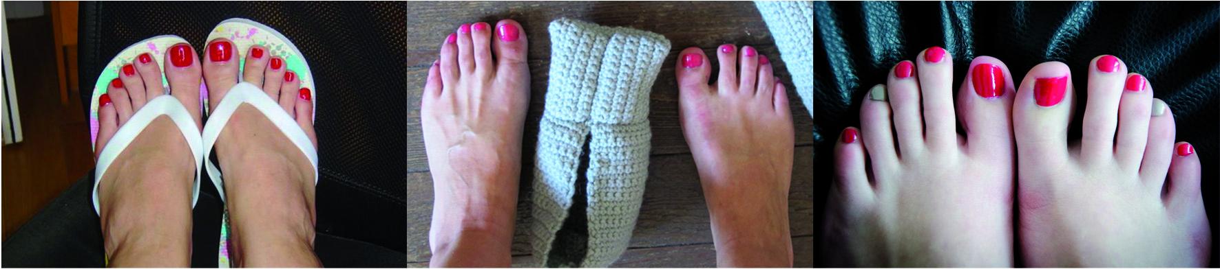photos des pieds des femmes